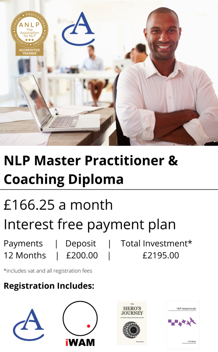 NLP Master Practitioner & Coaching Diploma