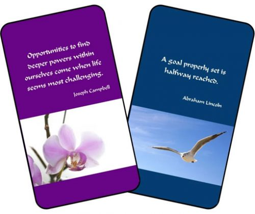 Life Coaching Cards