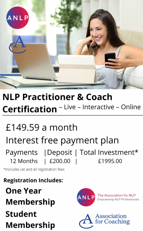 NLP Practitioner & Coach Certification