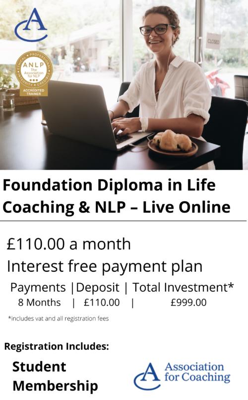 Life Coaching Foundation Diploma