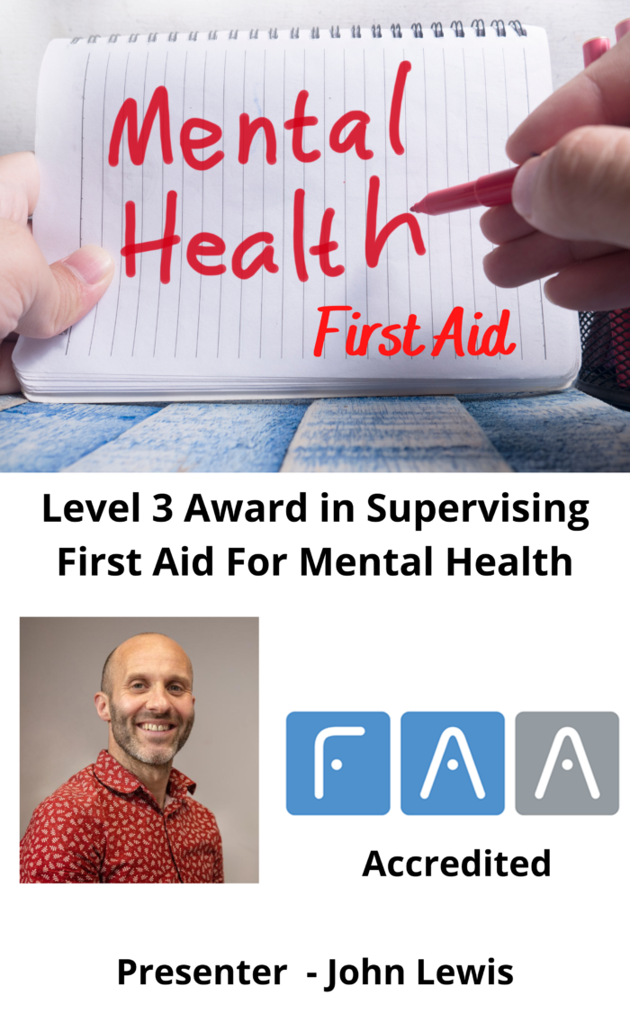 First Aid For Mental Health
